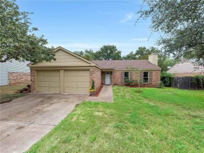 Euless Single Family Home Active Option Contract: 411 Thorn Wood Drive