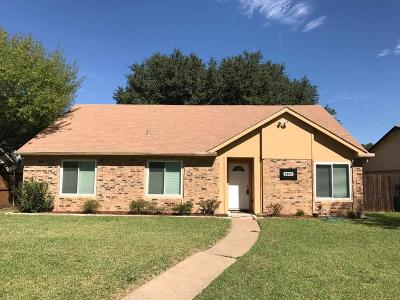 Garland Single Family Home Active Option Contract: 2905 Lancer Lane