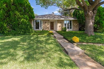 Richardson Single Family Home Active Option Contract: 2013 Yvonne Place