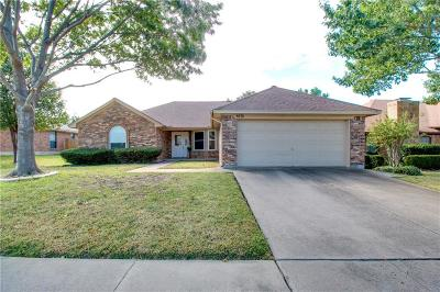 Watauga Single Family Home Active Option Contract: 6636 High Lawn Terrace