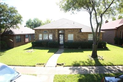 Mesquite Single Family Home For Sale: 418 Essex Drive