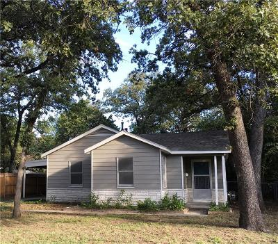 River Oaks Single Family Home For Sale: 5600 Taylor Road