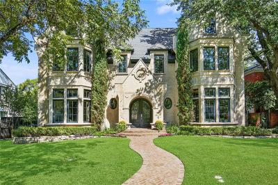 Dallas, Highland Park, University Park Single Family Home For Sale: 3236 Southwestern Boulevard