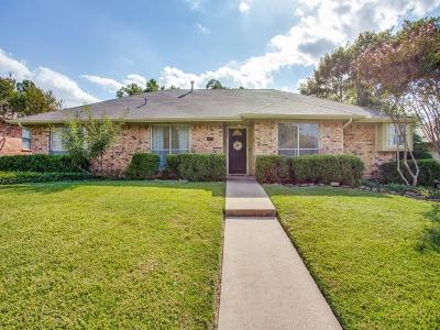 Carrollton Single Family Home Active Contingent: 1610 Mayflower Drive