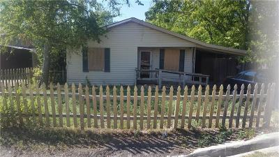 Waxahachie Single Family Home For Sale: 115 Emanuel Street