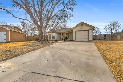 Arlington Single Family Home For Sale: 5410 Keith Willow Court
