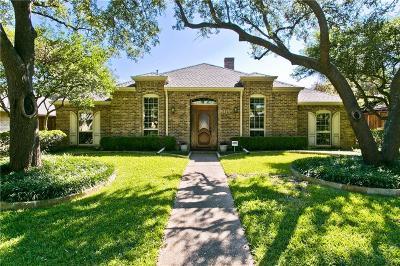 Richardson Single Family Home Active Option Contract: 1109 Eton Drive