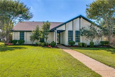 Allen Single Family Home Active Option Contract: 712 Green Brook Drive