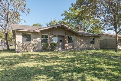 Garland Single Family Home For Sale: 1517 Crockett Street