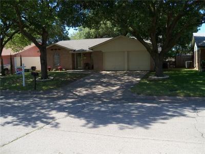 Haltom City Single Family Home Active Option Contract: 5617 Denise Drive