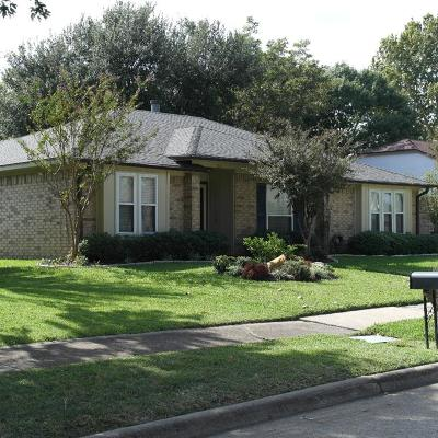 Garland Single Family Home Active Option Contract: 3121 Fairwood Drive