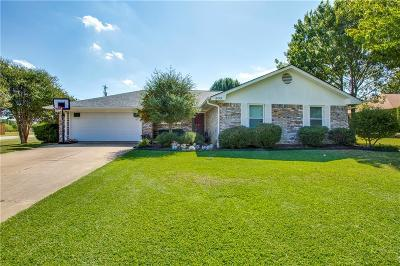 Lake Dallas Single Family Home Active Option Contract: 202 Hillcrest Street