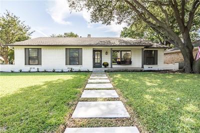Richardson Single Family Home Active Option Contract: 1401 Navaho Trail
