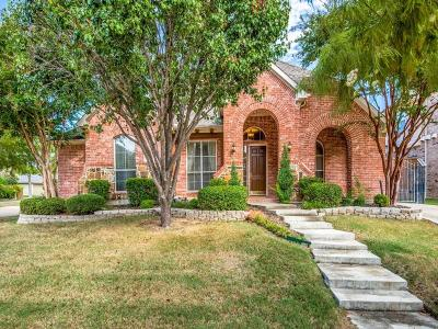 Lewisville Single Family Home Active Contingent: 2519 Sir Tristram Lane