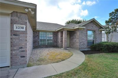 Stephenville TX Single Family Home For Sale: $142,900