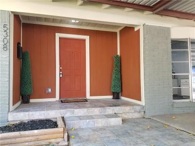 Haltom City Single Family Home Active Option Contract: 5308 Mack Road