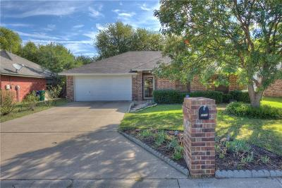 Denton Single Family Home Active Option Contract: 1100 Bayfield Drive