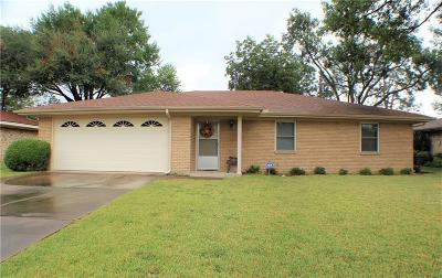 Terrell Single Family Home Active Option Contract: 206 Melody Lane