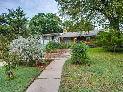 Dallas Single Family Home For Sale: 11149 Lanewood Circle