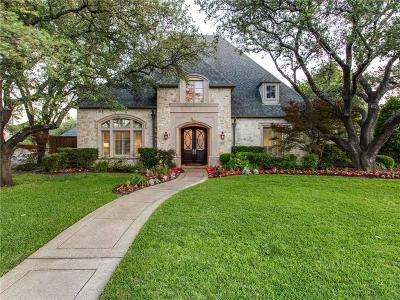 Dallas Single Family Home For Sale: 6466 Tulip Lane