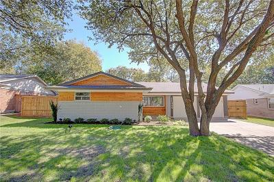 Dallas Single Family Home Active Contingent: 11324 Earlywood Drive