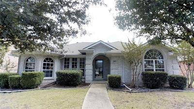 Rowlett Single Family Home Active Option Contract: 2602 Thistle Lane