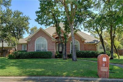 Hurst Single Family Home Active Option Contract: 801 Vendome Court