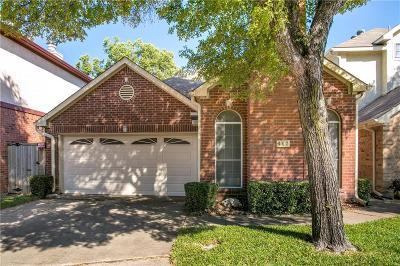 Euless Single Family Home Active Option Contract: 462 Arbor Club Lane