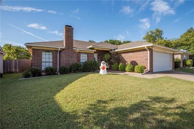Watauga Single Family Home Active Option Contract: 6424 High Lawn Terrace