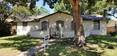 Garland Single Family Home Active Option Contract: 4121 Glenrose Drive