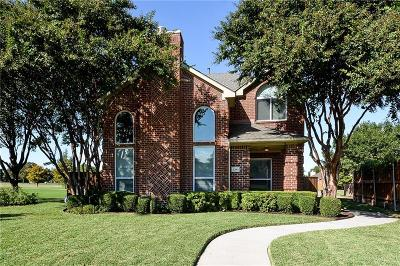 Plano TX Single Family Home Active Option Contract: $290,000