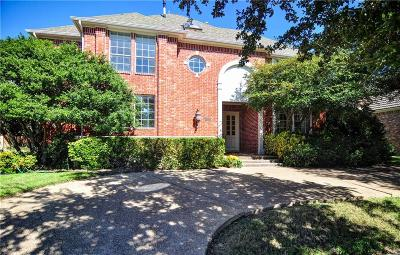 Dallas County, Denton County Single Family Home Active Kick Out: 2219 Creekside Circle S