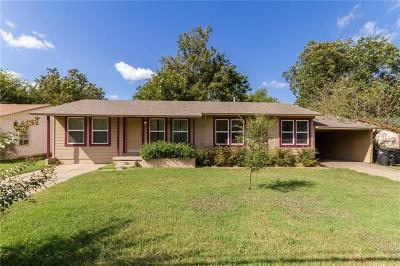 Cleburne Single Family Home For Sale: 612 Rose Avenue