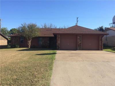 Stephenville TX Single Family Home For Sale: $132,000