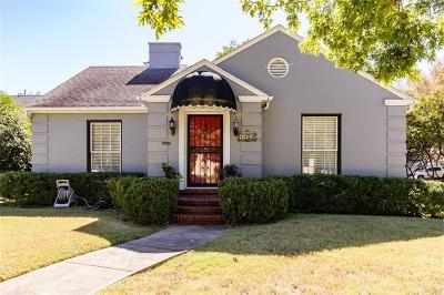 Highland Park, University Park Single Family Home For Sale: 4453 Mockingbird Lane