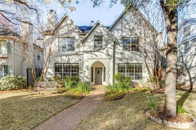 Highland Park, University Park Single Family Home For Sale: 2936 Fondren Drive