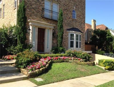 Dallas Multi Family Home For Sale: 4120 Hawthorne Avenue #1