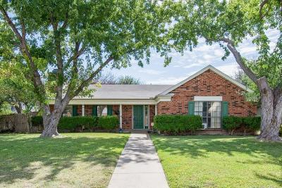 Plano Single Family Home Active Option Contract: 1608 Vera Cruz Drive
