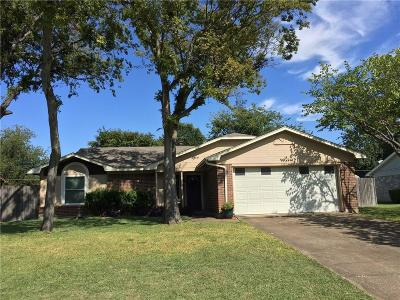 Benbrook Single Family Home Active Option Contract: 1305 Mercedes Street