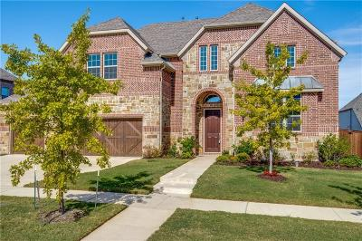 Frisco Single Family Home Active Contingent: 11382 Barcelona Lane