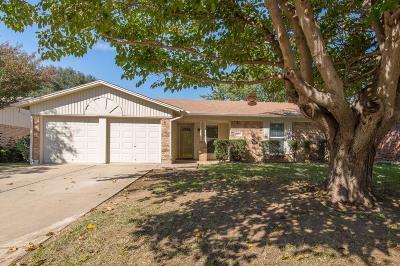 Watauga Single Family Home Active Option Contract: 6517 Meadowview Lane