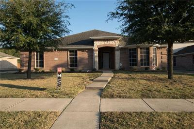 Murphy Single Family Home Active Option Contract: 553 Seminole Trail