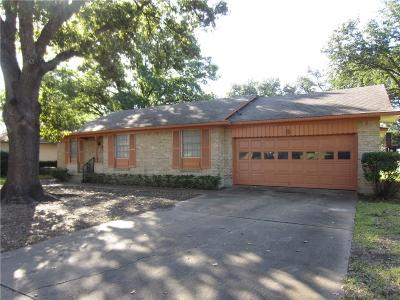Garland Single Family Home Active Option Contract: 2406 Cardinal Lane