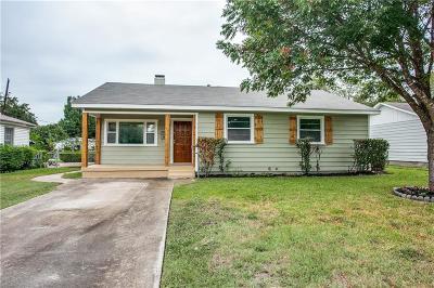 Haltom City Single Family Home For Sale: 4205 Voncille Street