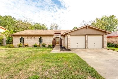 North Richland Hills Single Family Home Active Option Contract: 7540 Terry Drive