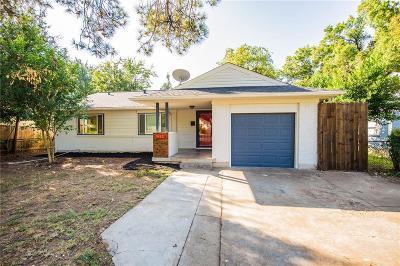 Arlington Single Family Home Active Option Contract: 914 W Inwood Drive