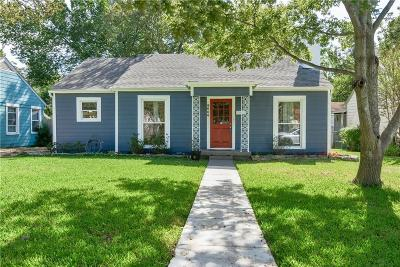 Dallas Single Family Home For Sale: 9006 Forest Hills Boulevard