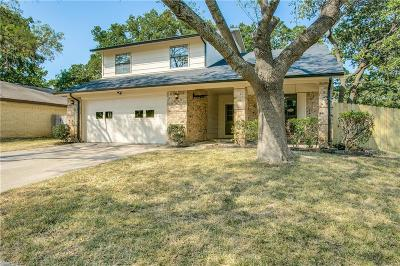 Bedford Single Family Home For Sale: 3715 Pecan Circle