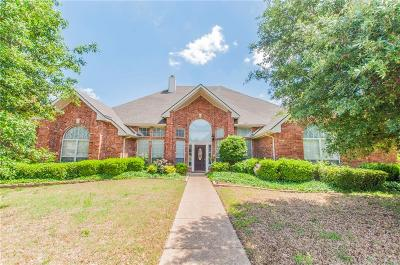 Rockwall Single Family Home Active Option Contract: 4617 Steeple Chase Lane