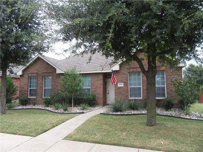 Allen Single Family Home For Sale: 1539 Cliff Creek Drive